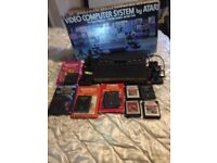 Atari and five games for sale