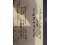 Drake ticket for sale o2 arena