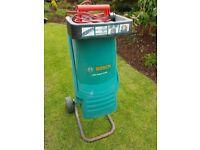 Bosch AXT 2200 Garden Shredder. Works Fine. Needs new blade hence low price.
