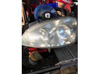Corsa c front head lights
