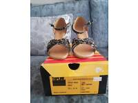 Ladies dance shoes brand new in box