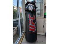 Genuine PRO MMA/Boxing punching bag, very heavy, 2x gloves (12oz)