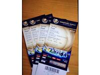 Ind vs Pak final match tickets X 4 available £500 each