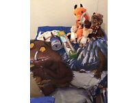 Gruffalo bedroom accessories and bedding