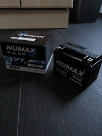 Numax YTX9BS AGM Motorcycle Battery
