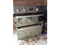 Hotpoint built in double oven DHS53XS