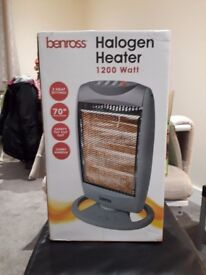 Halogen Heater (new in unopened box)