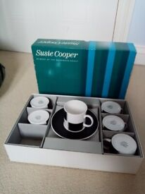 Susie Cooper Heraldry black coffee set