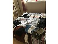 Bundle of woman's clothes (37 items )