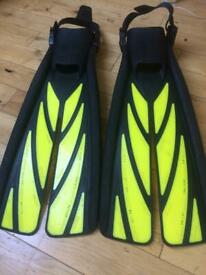 Diving flippers Natural wing