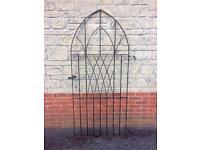 Metal Gothic Garden Gate