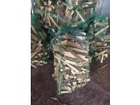 Dry stored kindling firewood nets £2.50 each or 5 for £10 free delivery