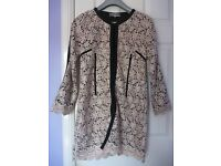 Beautiful embrodidered lace longline jacket for sell
