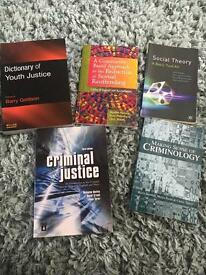 Criminology text books