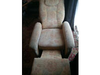 electric recliner chair can be delivered