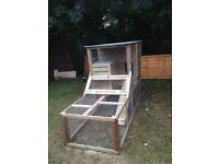 Chicken coop/ Rabbit hutch and run
