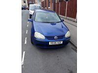 Volkswagen, GOLF, Hatchback, 2005, Manual, 1390 (cc), 5 doors