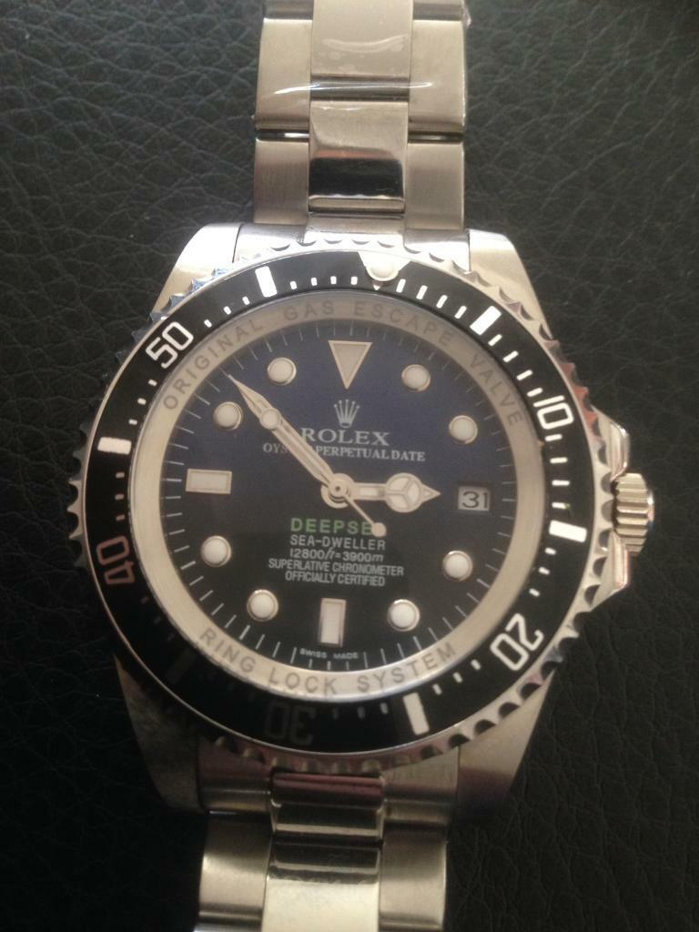 Watchin Uddingston, GlasgowGumtree - Hi am selling my brand new Rolex Deepsea Dweller Blue/Black Face its automatic kinetic with sweeping hand movement the watch in the picture is the watch you will receive