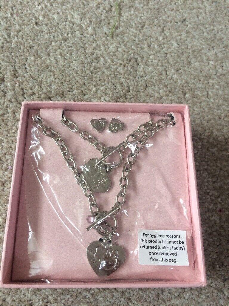 Hello kitty Jewellery set