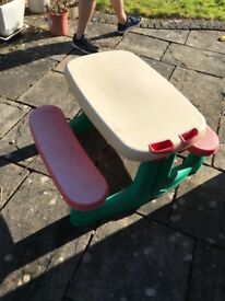 Little tikes picnic table