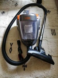 Cheap Vax Power 8 Cylinder Vacuum Cleaner Cyclone Bagless 800W C84-TJ-BE Good Used Condition
