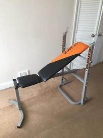 V fit work out bench with extensions