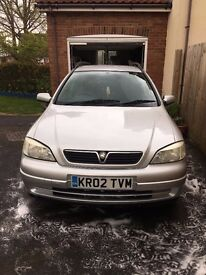 Vauxhall Astra Estate 2002 1.6L