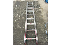 Hailo Double Extension ladder