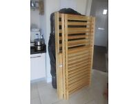 Solid Pine Mamas & Papas Cotbed & mattress very good cond wth bedding!! NEXT MOTHERCARE BABY DAN ETC