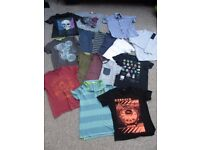 Large Bundle of Boys Tops (Age 8-9 Years)