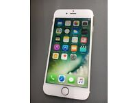 iphone 6 16GB, unlocked to all network White gold Mobile phone Good Condition