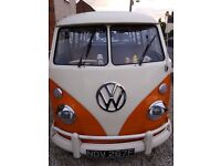 VW Splitscreen Campervan 1967 RHD