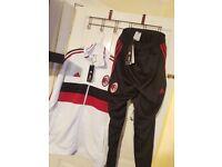AC Milan 2017/2018 Adidas Tracksuit Men Size XL