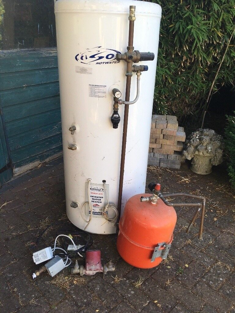 Oso Unvented Hot Water Heater and Expansion tank | in Havant ...
