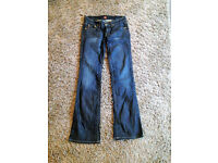 Womens size W28 L34 blue denim genuine Hugo Boss jeans
