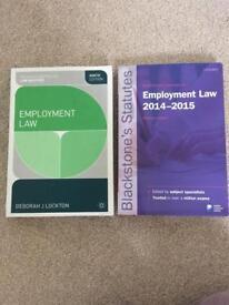 Employment Law plus Statue book
