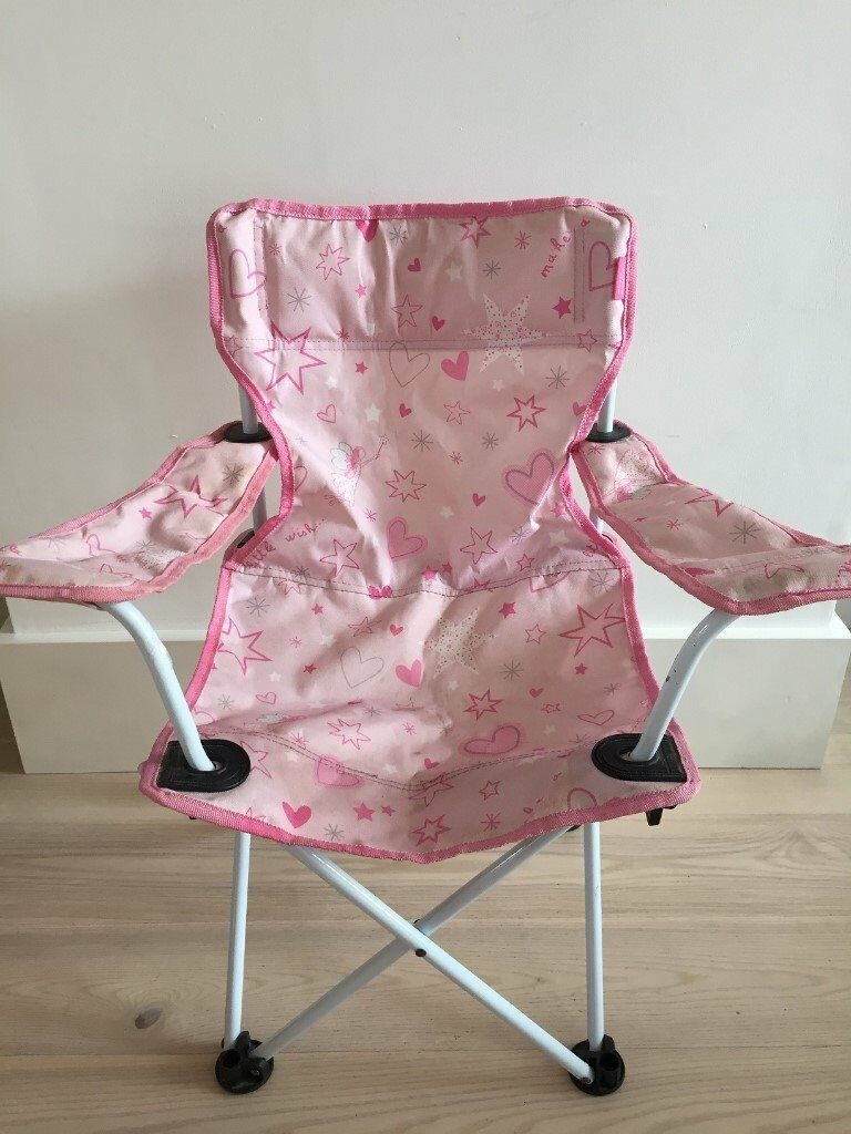 Child's collapsible camping chair, ages approximately 3-8