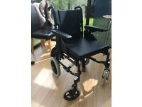 Action 2 Attendant Controlled Wheelchair lightly used