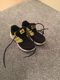 Kids Adidas Lace Up Trainers Size 11