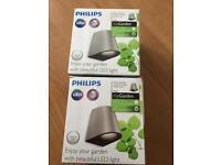 Phillips LED garden lights 270 lumens 5w