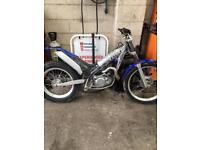 Trials bike gas gas 280cc
