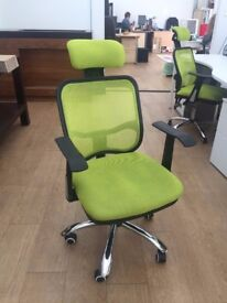 Black Friday Sale- Green Office Chairs
