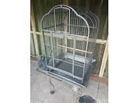 Parot cage