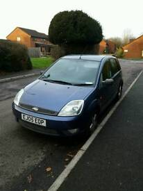 Ford fiesta zetec 1.4 tdci 2005 5dr £30 road tax