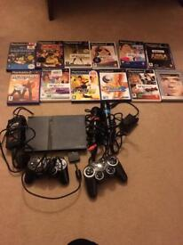 PlayStation 2 with singstar