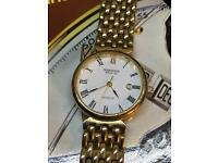 Vintage Warwick Watch Co Gold Filled Watch