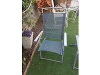 3 x folding chairs for sale