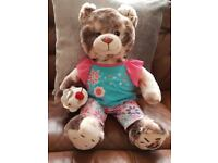 Rare Build a Bear Hot Fudge Sundae Ice Cream Bear