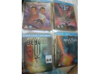 Star Trek Steelbooks Blu Ray