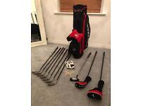 Dunlop Golf Clubs with water proof top cover, gloves and T's